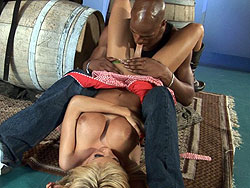 Kimber james first interracial Irresistible Kimber James Having Her First Interracial.