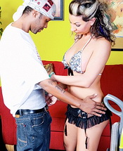 Ariel everrets hardcore. Hot & libidinous Ariel banged by some black penish