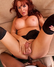 Wendy and flex pov. Curvy tranny Wendy gets her backside drilled by Flex