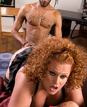 Cinnamon and flip  nice tranny getting banged from behind. Inviting shemale getting banged from behind